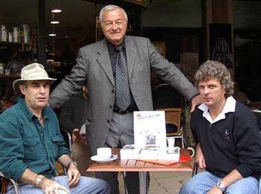 Photo: Luc Baranger, Bernard Brochand et Jacques Lorognon