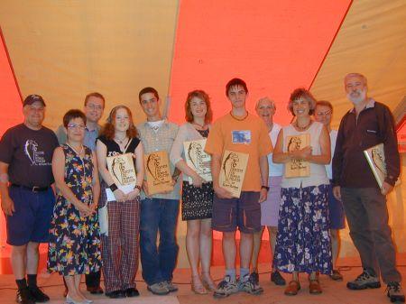 Gagnants du Prix de la Rivière Ouelle 2003